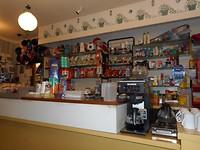 Het winkeltje in het restaurant