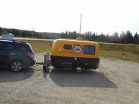 Bumble Bee mini caravan