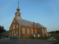 Kerk in Saint  Pierre les Becquets