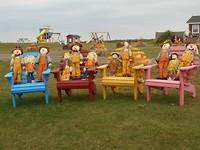 Fleurige herfst Picknick