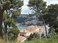 Uitzicht op Pilos