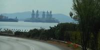 Olieplatform wacht op verscheping