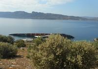 Onderweg naar Itea ,een gezonken vrachtschip ligt hier weg te roesten