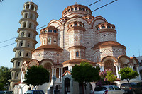 Kerk plus toren Neo Moudonia
