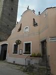 Het historisch centrum met veel huizen in Renaissance en Barok stijl
