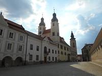 Telc was een vestingstadje ontstaan in 1207