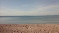 Kiekje vanaf het strand