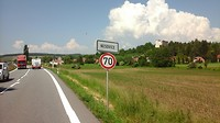 Gaan richting Brno