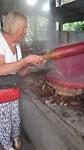 Ria aan de bak...voor een ex-kok geen probleem natuurlijk