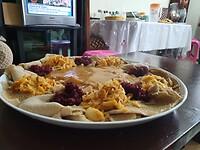 Indjerra, traditionele eten