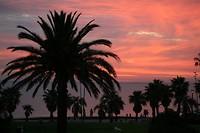 Zonsondergang st Kilda