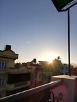 Last sunset in KTM on my balcony