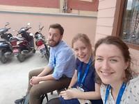 Op bezoek in Patan clinic!