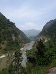 Uitzicht onderweg naar Butwal