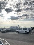 Aankomst op militaire vliegveld brussel