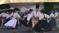 Volksdansen in Melnik