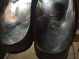 Schimmel op de schoenen