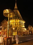 Doi Suthep in de nacht