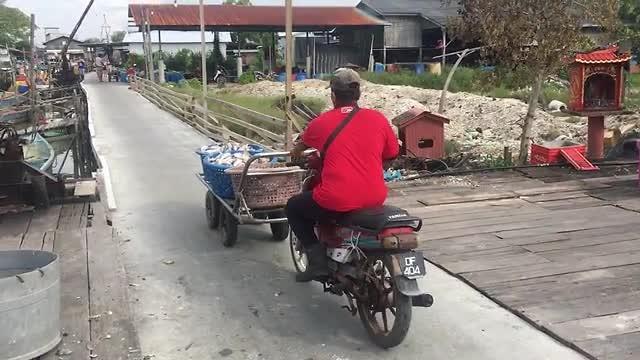 Transport van vis
