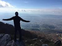 View over Tirana