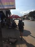 Walking somewhere in Myanmar