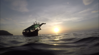 Fishing trip Cambodia