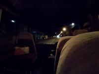 Koude bus, brrr!