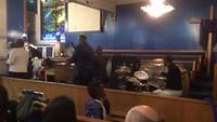 Baptist kerk dienst