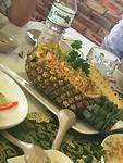 Gegrilde rijst in ananas, hmmm!