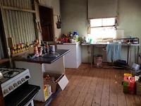 De keuken op de boerderie