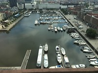 Uitzicht op de jachthaven! Waar liggen wij?