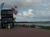 Eettent op de  Brouwersdam