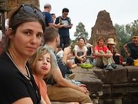 Angkor - toch nog andere toeristen