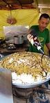 Making nasi