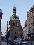 Kerkje om de hoek van het hotel