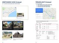 Routebeschrijving 14, 15 en 16 januari
