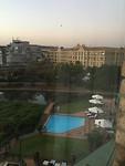Uitzicht uit hotel