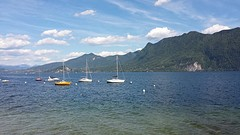 Bootjes in Lago Maggiore