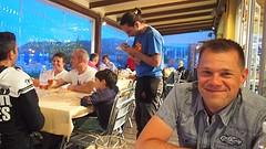 Gezellige drukte in een restaurantje