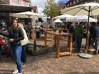 Dorpsfeest in Donaueschingen