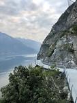 Wandelpad bij Limone sul Garda
