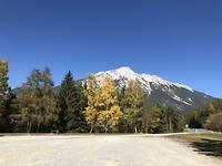 Fotostop ergens voor de Fernpas in Oostenrijk