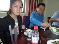xian eten met directeur