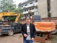 xian bij oude tehuis