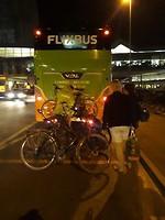 Wachten op de Flixbus