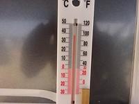 Warm vanmorgen onder de luifel