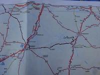 Van Montreuil Bellay naar La Perouille, 187km