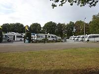 Mooie grote camperplaats