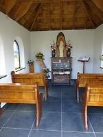 Binnen inde kapel