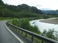 Langs een rivier